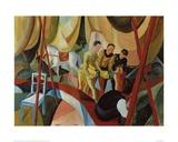 Auguste Macke - Circus 1913 - Giclee Baskı