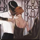 Bolero Leinwand von Trish Biddle