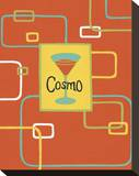 Cosmo Stretched Canvas Print by Michele Killman