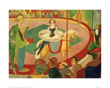 Circus I Circus Rider 1911 Giclee Print by Auguste Macke
