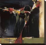 Dark Still Life Stretched Canvas Print by Terri Burris