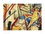 Colour Composition II Giclee Print by Auguste Macke