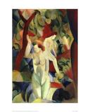 Women Bathing 1913 Giclee Print by Auguste Macke