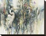 Silent Vigil Stretched Canvas Print by Brent Heighton