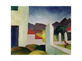 Tunisian Landscape Giclee Print by Auguste Macke