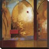 Exotic Journey Lærredstryk på blindramme af Don Li-Leger