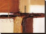 Earthen Hues II Stretched Canvas Print by Natasha Barnes