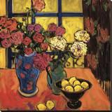 Roses Reproduction sur toile tendue par Jae Dougall