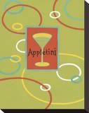 Appletini Stretched Canvas Print by Michele Killman