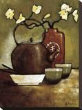 Salón de té de Takara Reproducción en lienzo de la lámina por Krista Sewell