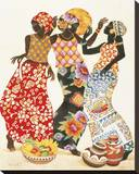 Jubilation Reproduction sur toile tendue par Keith Mallett