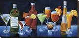 Cocktail Hour Stretched Canvas Print by Will Rafuse