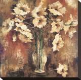 Poppy Paradise Stretched Canvas Print by Elizabeth Jardine