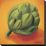Artichoke Stretched Canvas Print by Will Rafuse