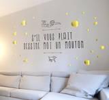Le Petit Prince - Dessine-moi un mouton 2 Adhésif mural