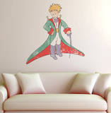 Le Petit Prince - Le Petit Prince aquarelle Muursticker