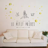 Le Petit Prince Wall Decal