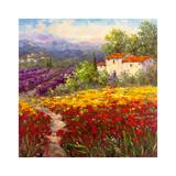 Fleur du Pays II Print by  Hulsey