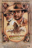 Indiana Jones and the Last Crusade - Harrison Ford Sean Connery Movie Poster Poster