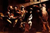 Michelangelo Caravaggio Appeals of St Matthew Poster Photo by  Caravaggio