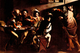 Michelangelo Caravaggio Appeals of St Matthew Art by  Caravaggio
