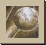 Play Hard III Stretched Canvas Print by Andrea Stajan-ferkul