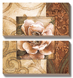 Linen Roses II Posters by Linda Thompson