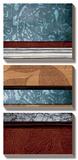 Pillars of Pattern I Posters by W. Blake