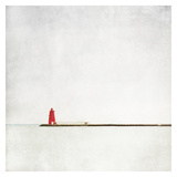 Meet Me at the Red Lighthouse Posters by Margaret Morrissey