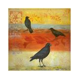 Crow Crossroads Posters par Margaret Donharl