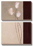 Floral Whispers I Posters by Karen Lorena Parker