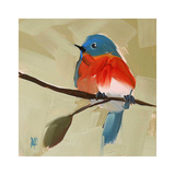 Bluebird No. 21 Print by Angela Moulton