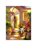 Fragrant Entrance Print by Betty Carr