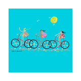 Tour de Girls Prints by Caroline Benchétrit