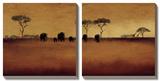 Serengeti II Posters af Tandi Venter