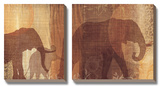 Safari Silhouette IV Poster by Tandi Venter