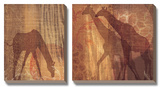 Safari Silhouette III Prints by Tandi Venter