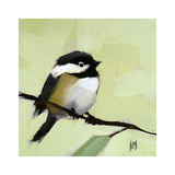 Chickadee No. 143 Poster by Angela Moulton