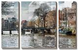 Zwaneburgwal Canal Kunstdrucke von Pep Ventosa