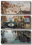 Brugge Reflections Print by Robert Schaar