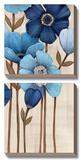 Fleurs Bleues II Prints by  Maja