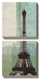Eiffel Tower II Print by Tandi Venter
