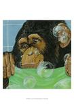 Bubbles - James Poster par Dlynn Roll
