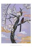 Asian Bird Illustration II Posters by Judy Mastrangelo