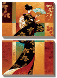 Sakura Prints by Keith Mallett