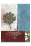 Painterly Leaf Collage II Prints by W. Green-Aldridge