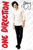One Direction - Harry Logos Plakat