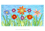 Flower Play I Prints by Kaeli Smith
