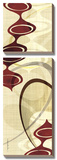 Avant-Garde II Prints by  Ahava
