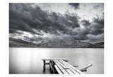 Lake with Dock Kunstdrucke von Nish Nalbandian